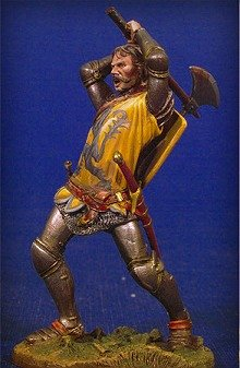 アンドレアミニチュア SM-F48 戦っている騎士 I