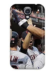 Galaxy S4 Case Bumper Tpu Skin Cover For Cleveland Indians Accessories