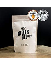 Killer Bee Coffee - Big Buzz 250g. Award Winning Specialty Coffee Beans for espresso coffee machine. Whole beans, freshly roasted. Can be ground if requested.