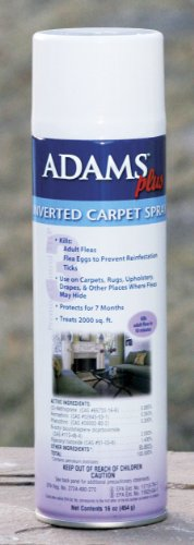 Adams Plus Inverted Carpet Spray, 16-ounce