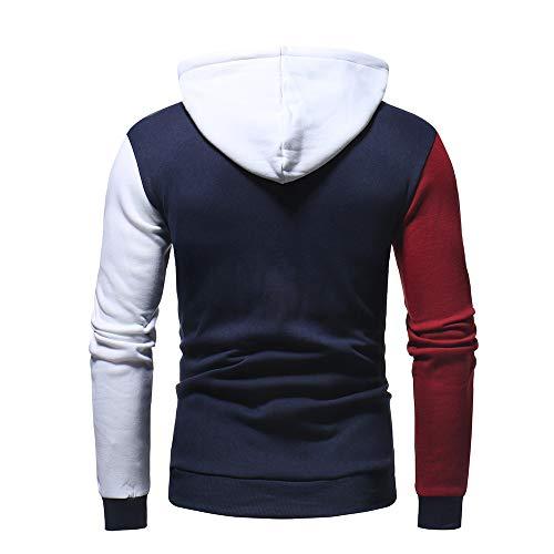 Top Casual Sweatshirt Marine Survêtements Longue À Blouse Manche Aimee7 Hommes Sweats Capuche Rqz0Az