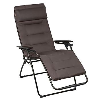 Lafuma Relaxliege Futura Air Comfort Xl Taupe Amazonde Garten