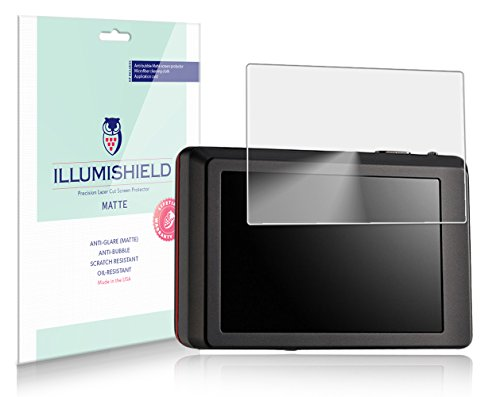 iLLumiShield Matte Screen Protector Compatible with Universal (2.5 inch)(3-Pack) Anti-Glare Shield Anti-Bubble and Anti-Fingerprint PET Film