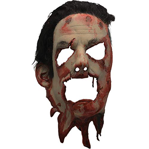 Loftus Trick Treat The Texas Chainsaw Massacre II Skin Face Mask W Hair -