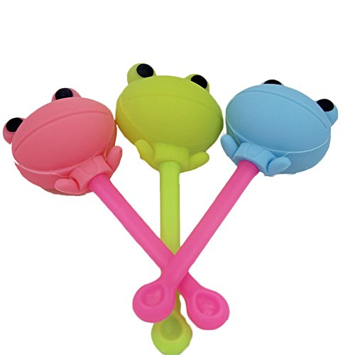 JLHua Frog Tea Infuser Silicon, Random Color