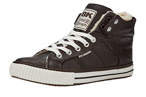 British Knights Roco, Zapatillas de Baloncesto Unisex Niños Marrón (Dk Brown)