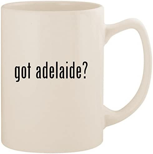 got adelaide? - White 14oz Ceramic Statesman Coffee Mug Cup