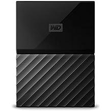 WD 1TB Black My Passport Portable External Hard Drive - USB 3.0 - WDBYNN0010BBK-WESN