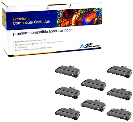 440-72588PK Type SP201HA - Generic 8//PK-2600 Page Yield AIM Compatible Replacement for Lanier SP-204//211//213 Black High Yield Toner Cartridge
