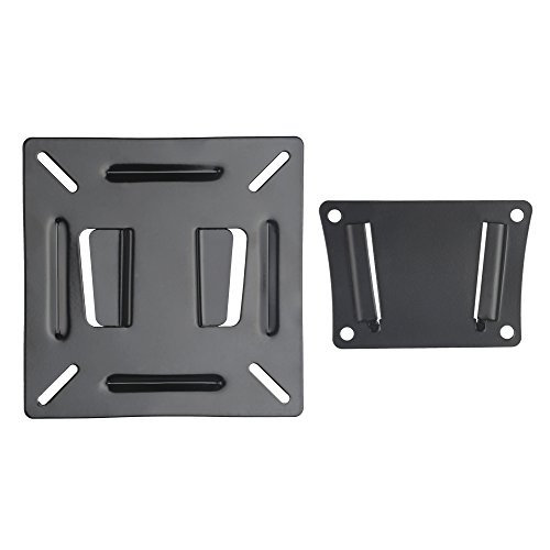 LWL Mounting RV TV Mount Bracket for 10-24 21.5 23.6 23.8 Flat Screen Kichen ViewSonic Maya Bedroom Living Dining Computer Monitors with 100x100 Loading 55lbs