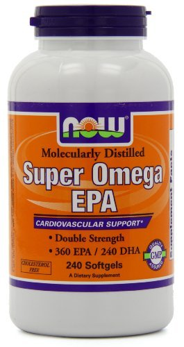 NOW Foods Super Omega EPA, 360 EPA/240 DHA Double Strength, 240 Softgels (Pack of 3) by NOW Foods (Image #3)