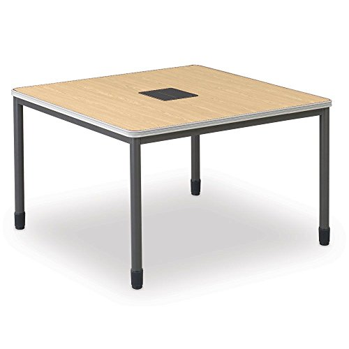 Training Table with Built-In Electric and Data Ports - 48