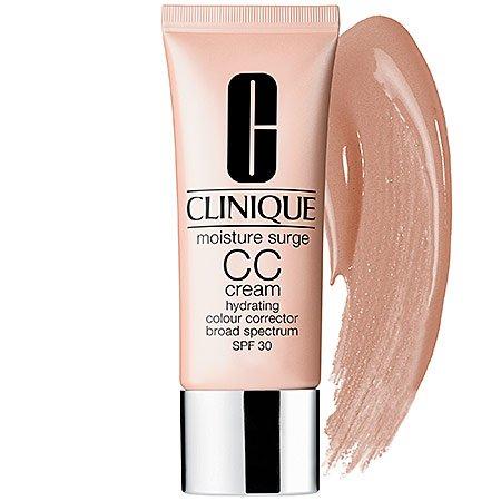 Clinique Mirror - Clinique Moisture Surge CC Cream SPF 30 Hydrating Color Corrector Sunscreen, Medium Deep, 1.4 Ounce
