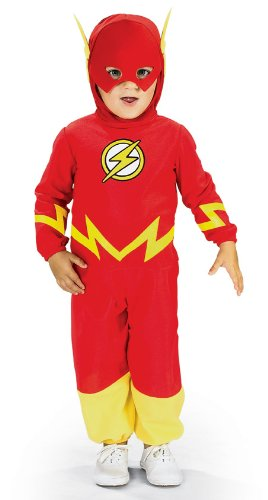 Toddler Flash Costumes (Justice League The Flash Toddler Costume)
