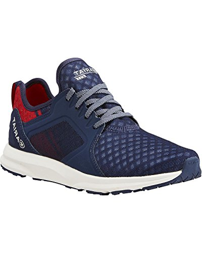 Ariat Women's Fuse Athletic Shoe, Team Navy, 8.5 B US