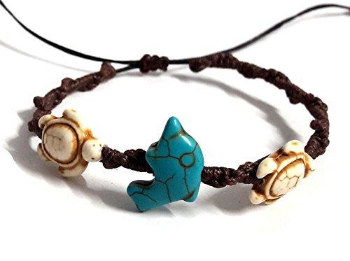 Bracelet Dolphin Sea Turtle Bracelet Turtle Hemp Bracelet