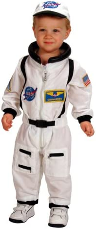 Amazon.com: Aeromax Jr. Traje de Astronauta con parches de ...