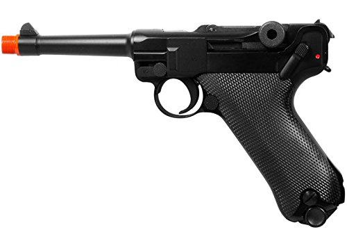 we p08 metal gas 4 inch barrel airsoft pistol airsoft gun(Airsoft Gun) (We Airsoft Mag)