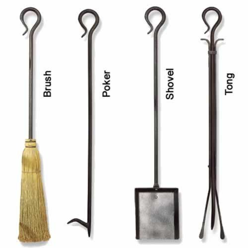 Pilgrim 30'' Single Brush Tool - Vintage Iron by Woodeze