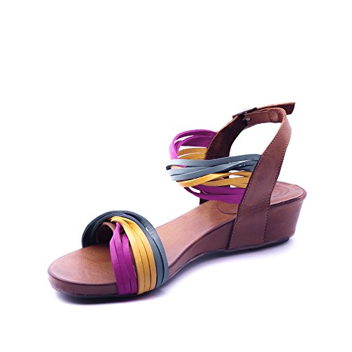 LUNE ET L AUTRE Women's Clogs & Mules Multicolored LTWS9
