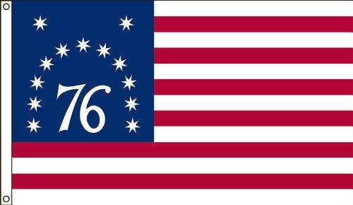 Americas Flag 4-Foot by 6-Foot Nylon Bennington Historica...