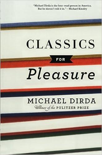 classics for pleasure harvest book michael dirda 9780156033855