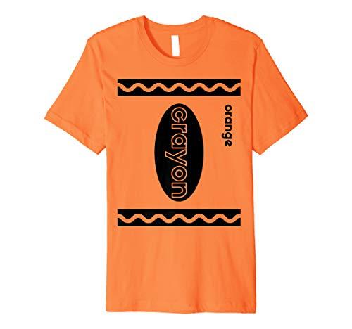 Funny Last Minute Group Costume Halloween | Orange Crayon Premium