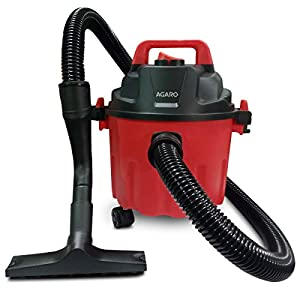 AGARO Rapid 1000-Watt, 10-Litre Wet & Dry Vacuum Cleaner, with Blower Function (Red & Black)