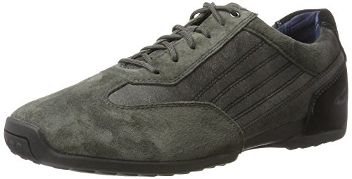 camel active Herren Space 30 Sneaker Schwarz (Anthracite/Black)