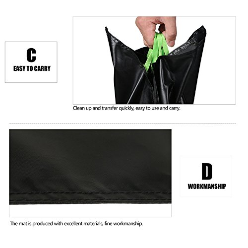Wildken Waterproof Blanket Mat for Rock Climbing Equipment Storage