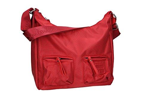 Borsa donna a tracolla RENATO BALESTRA rosso con apertura zip VN1645
