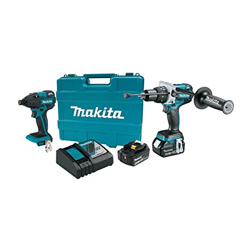 Makita XT257MB 18V LXT Lithium-Ion Brushless Cordless 2-Pc. Combo Kit (4.0Ah) (Discontinued by Manufacturer)