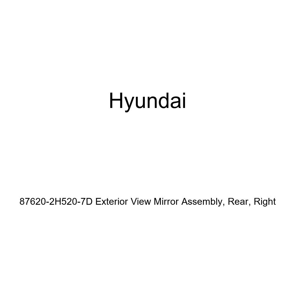 Genuine Hyundai 87620-2H520-7D Exterior View Mirror Assembly Right Rear