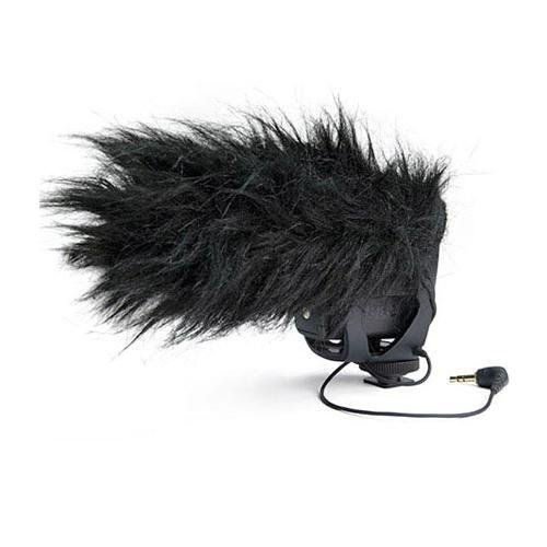 Rode Microphones VideoMic Pro Compact Shotgun Microphone, 200 Ohms - Bundle - with Deadcat VMP Furry Wind Cover for VideoMicPro by Rode (Image #3)