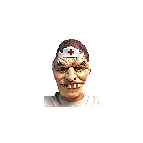 Quality Brand Halloween Evil Crazy Hospital Nurse Asylum Mask by Quality Brand