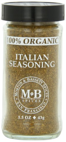 Morton & Basset Spices, Organic Italian Seasoning, 1.5 Ounce (Pack of - Organic Hazelnut Extract 100%
