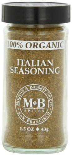 Morton & Basset Spices, Organic Italian Seasoning, 1.5 Ounce (Pack of 3)
