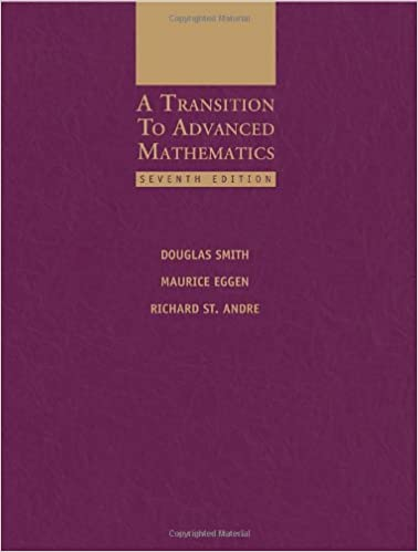 A Transition To Advanced Mathematics Blk Box Recordings E Books