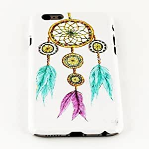 LIMME Fashion Colorful Feather Earring Pattern TPU Soft Cover for iPhone 6 Case 4.7 inch