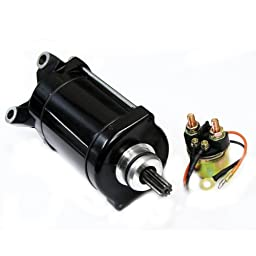 Caltric Starter & Solenoid Relay Fits YAMAHA GP1200 GP1200R WAVE RUNNER 1997-2001