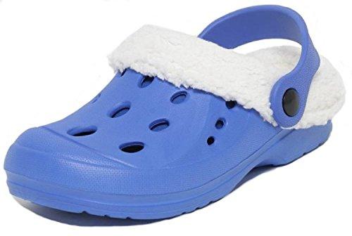 Kinder Clogs Gr.33 blau gefüttert