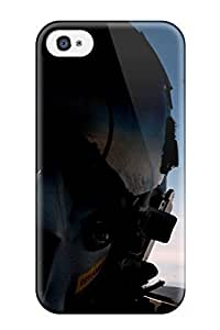 Anti-scratch And Shatterproof Fighter Pilot Phone Case For Iphone 4/4s/ High Quality Tpu Case