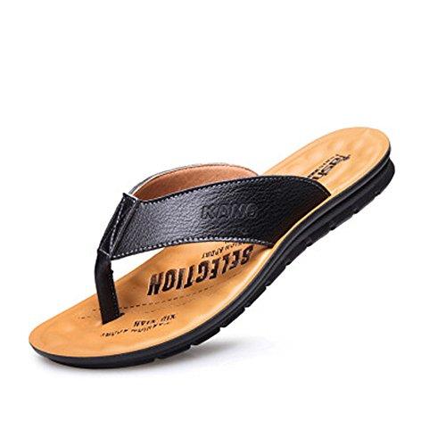 cm Sandalo 27 Impermeabile pelle bagnato Nero da Melodycp da Infradito uomo Sandali Scarpe estive uomo uomoCasual 5 spiaggia da da 24 estivi antiscivolo e in nwnYHxCUqp