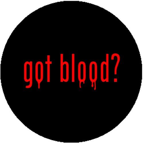 Got Milk Costume (Color Fashion Badge Button Pin Goth Gothic Emo Punk Metal Got Blood Milk Vampire)