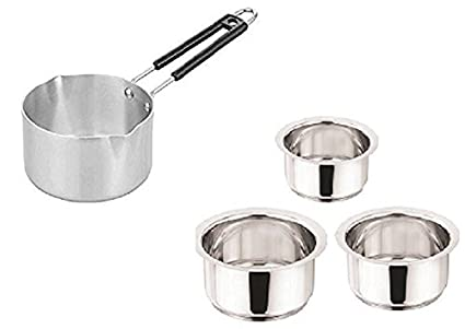 Buy Royal Sapphire Combo Set Aluminium Sauce Pan With Stainless