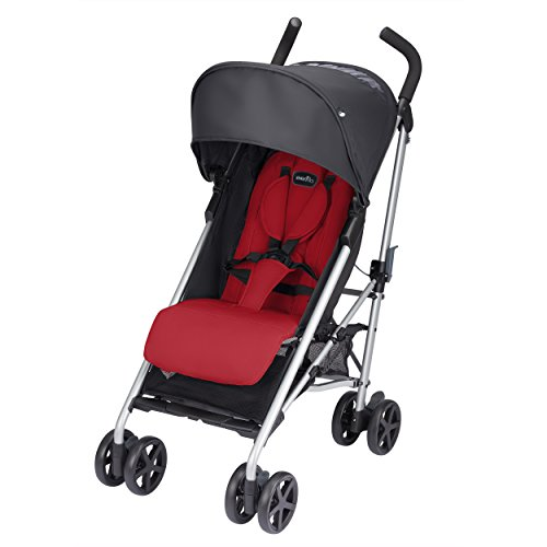 Evenflo Minno Lightweight Stroller, Really Red