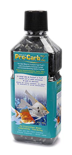 - Penn Plax Pro-Carb Z Contains Activated Carbon and Zeolite for Crystal Clear, Healthy Aquarium Water, 34 Ounce