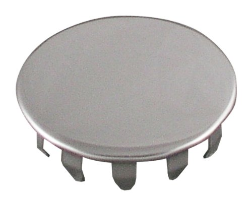 Faucet Snap - LDR Industries 5016420 Snap Style Stainless Steel Faucet Hole Cover, Chrome
