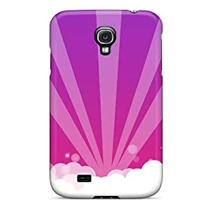 Hot Violet Sky First Grade Tpu Phone Case For Galaxy S4 Case Cover