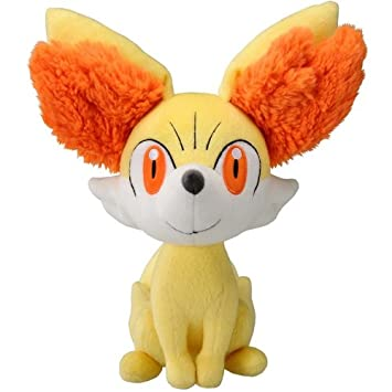 takaratomy new pokemon n 03 x and y fennekinfokko 9 plush doll